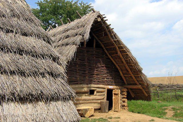 Veľká Morava - archeoskanzen v Oravskom Podzámku
