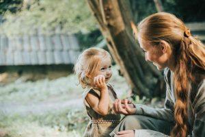 matka s dievcatkom